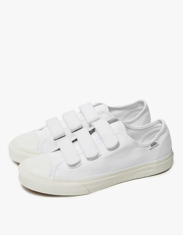 f5afe4ef01 Vans   Prison Issue in True White in 2019