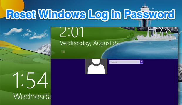 Reset Windows 8.x Password Windows, Personal computer