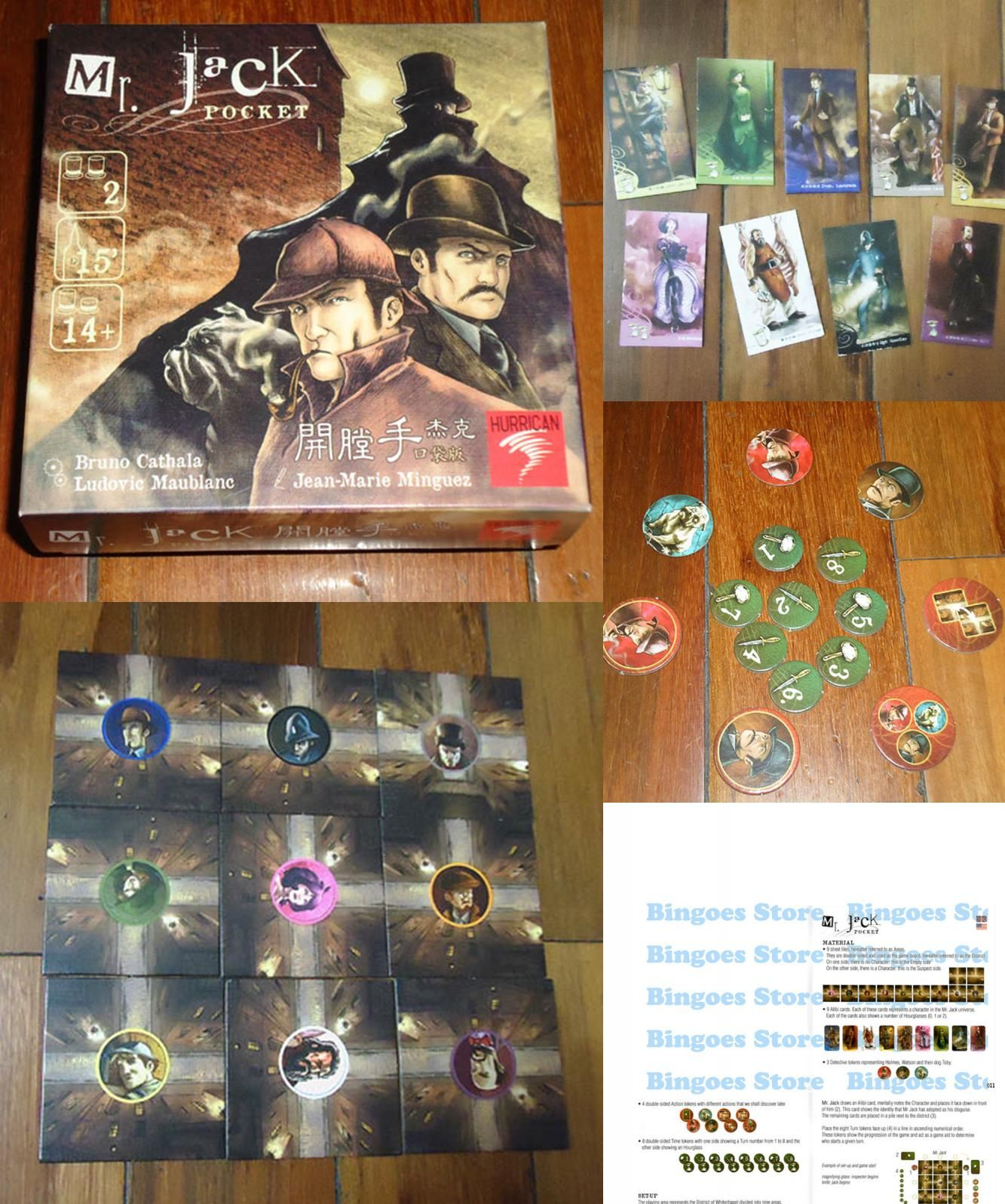 Visit To Buy Mr Jack Pocket Version Board Game Cards Game Send