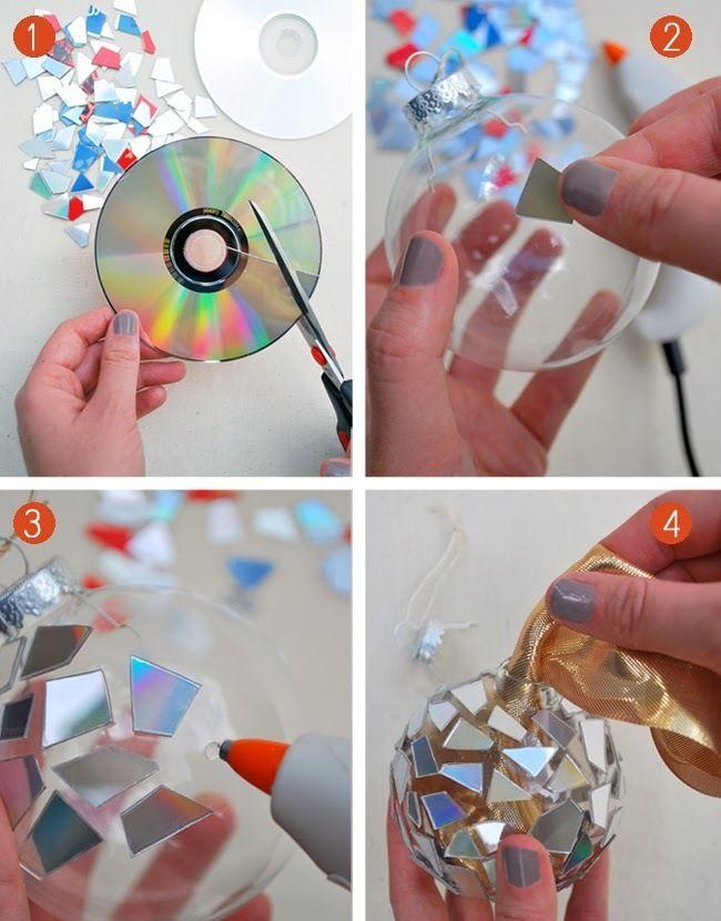 Что можно сделать из старых компакт-дисков: 6 идей оригинального декора – Своими руками