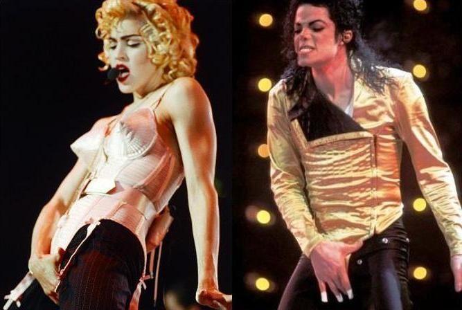 Blond Ambition Tour & Dangerous Tour ブロンド・アンビション・ツアー&デンジャラス・ツアー Madonna マドンナ Michael Jackson マイケル・ジャクソン