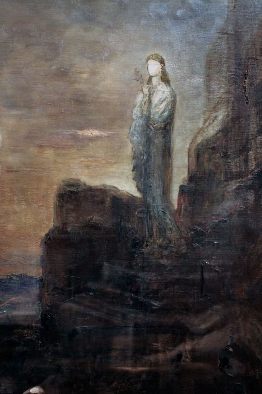 Gustave Moreau - Helen on the Walls of Troy (detail)