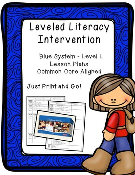 Leveled literacy intervention lli blue level l lesson plan leveled literacy intervention lli blue level i lesson plan templates fandeluxe Gallery