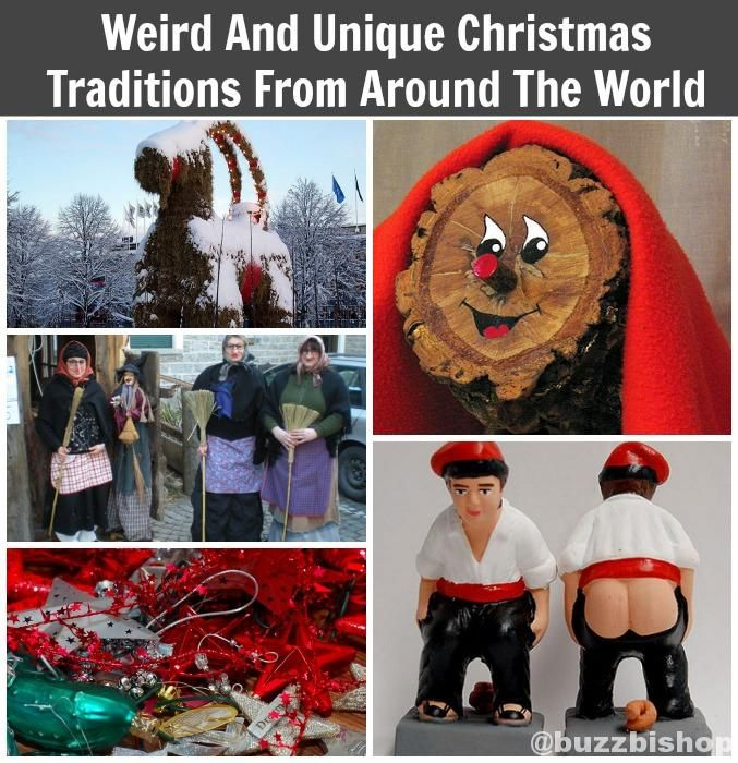 Strange, Fun, And Unique Christmas Traditions From Around