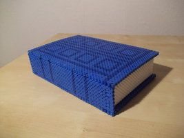 Dr. Who River Song journal box made of fuse beads by capricornc5