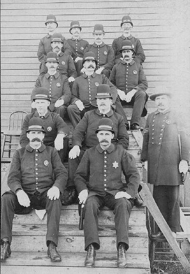Policemen 1910 Police American History History