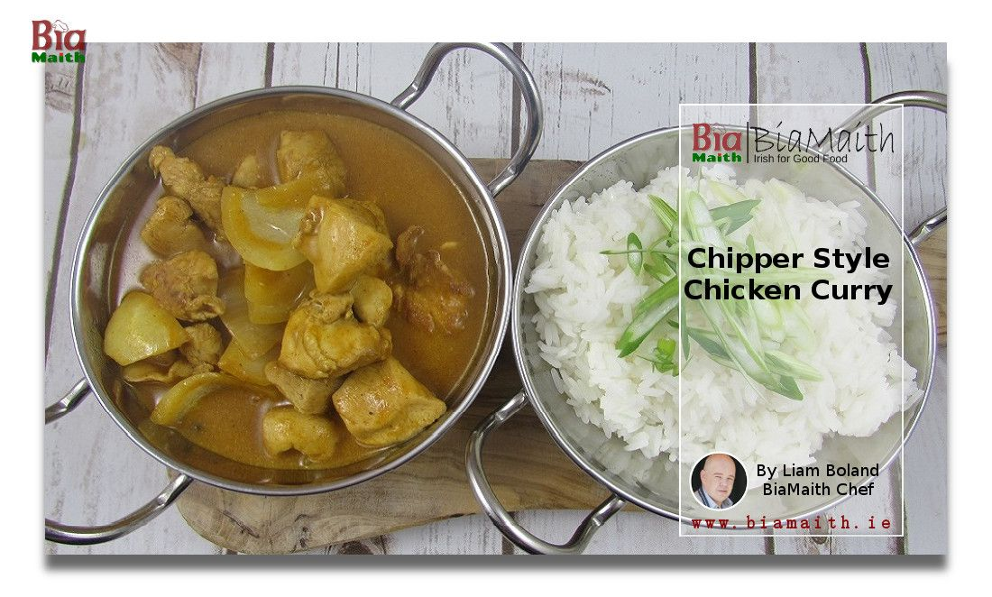 Chicken Curry (chip shop style)