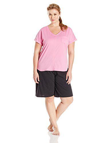 Karen Neuburger Women s Plus-Size KN Cool Short Sleeve Pu... https  897439834