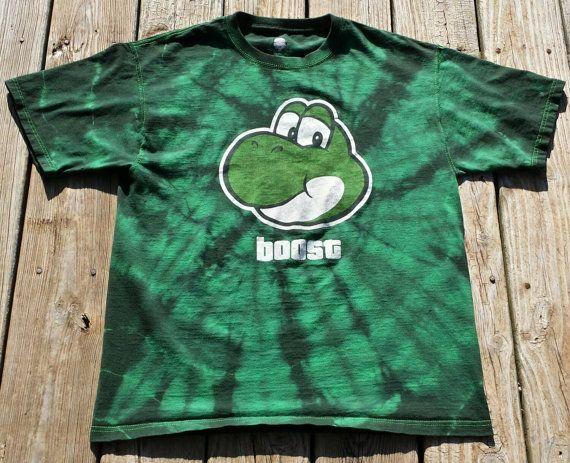 Yoshi Boost Tie Dye Shirt Mad Butterfly Creations Tie Dye Shirts