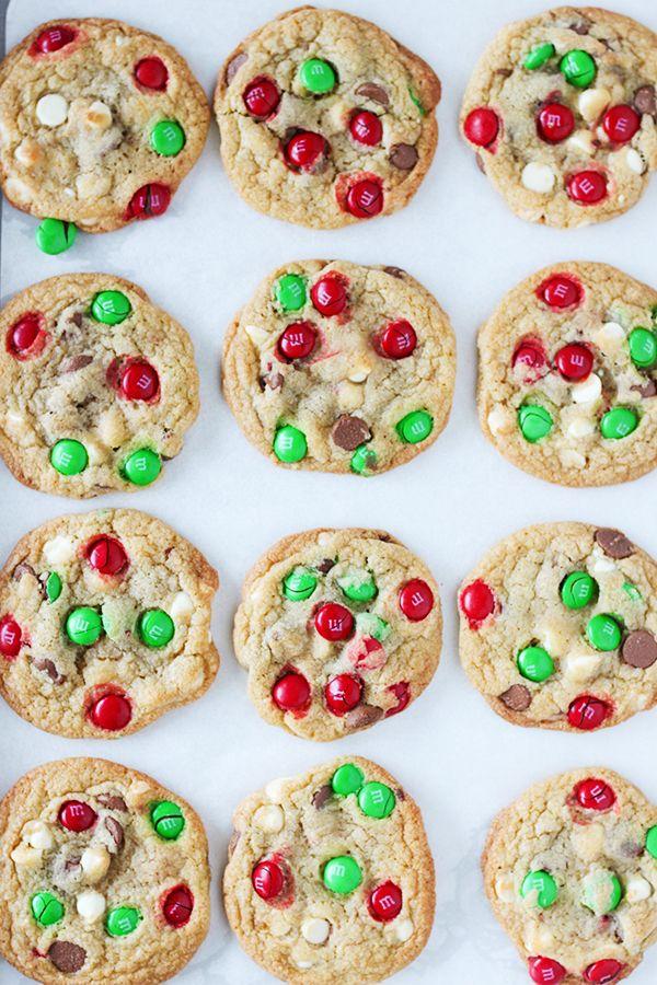 M M S Christmas Cookies For Santa