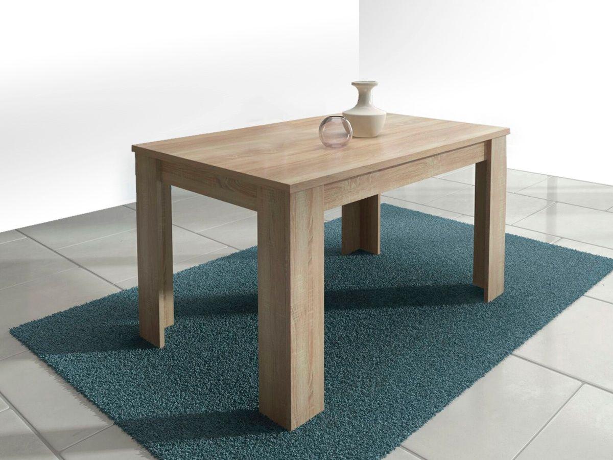 Mesa Comedor Extensible Roble O Blanca Decoracion Pinterest  # Muebles Fijos Especificaciones