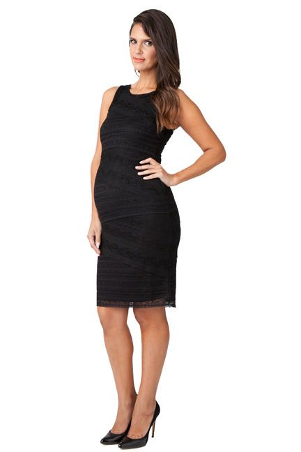d204a5c4be Ripe Maternity Stretch Lace Bandage Cocktail Dress