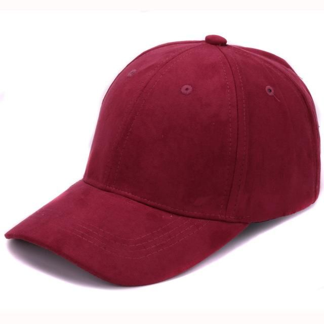 71207fc1 Plain Suede baseball caps with no embroidered casual dad hat strap back  outdoor blank sport cap and hat for men and women