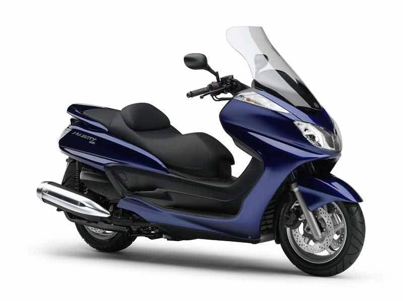 Yamaha Majesty 400 2004 On Review