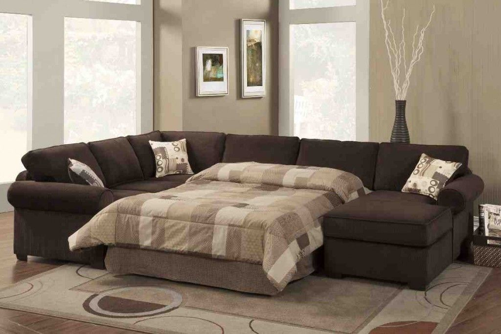 Exceptionnel U Shaped Leather Sectional Sofa