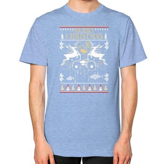 Christmas gift Unisex T-Shirt (on man)