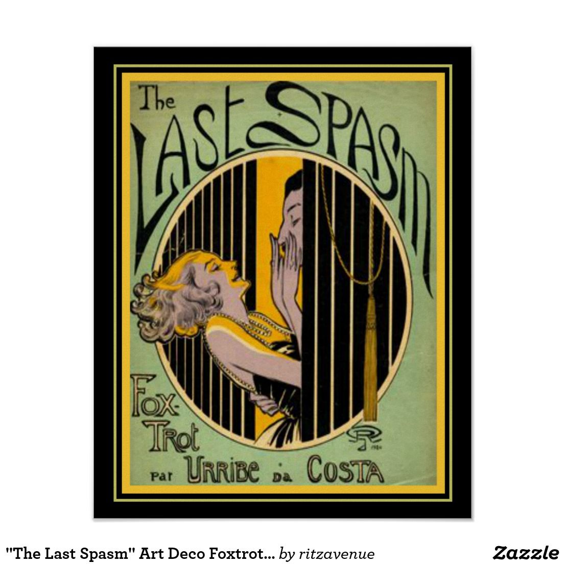 Fox Trot Deco Luxe Best Dance Images On Pinterest Foxtrot Steps Diagram Excellent The Last Spasm Art Print X With