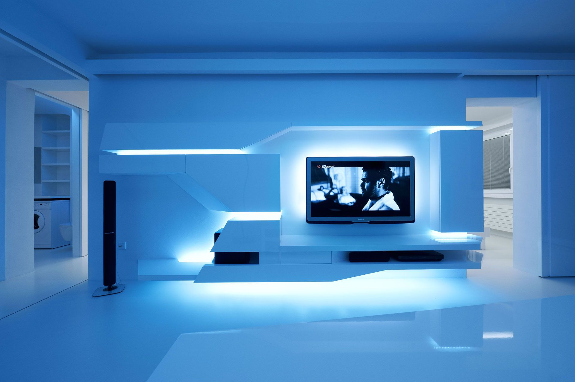 26++ Futuristic bed with tv trends