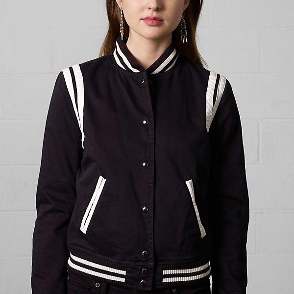 バーシティ ジャケット ・ ウィメンズ ジャケット & アウターウェア ・ アパレル ・ レディースファッション 通販 | Denim & Supply - Ralph Lauren Japan (ラルフローレン)