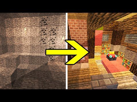 Transforming Redstone Cave Map   Hidden Redstone House That Is Disguised As  A Regular Minecraft Cave. But Donu0027t Be Fooled, This Redstone Cave Is ...