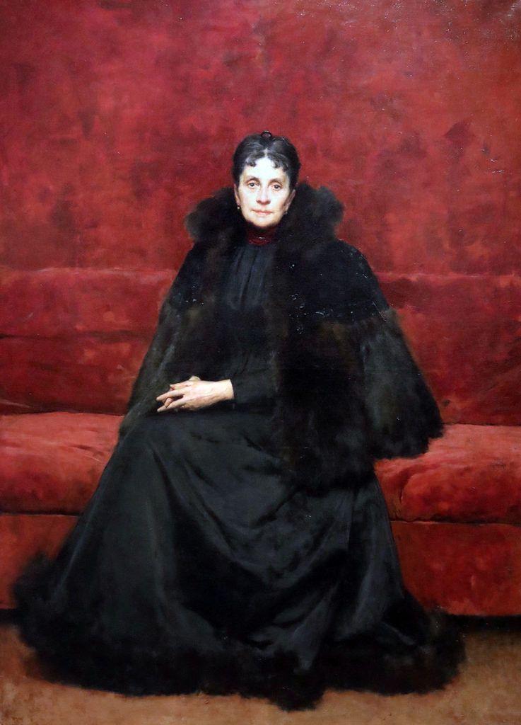 Ritratto di Olimpia Ortana Barucchi, 1896, Giacomo Grosso (1860-1958).
