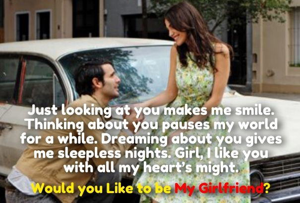 Quotes to Ask a Girl to be Your Girlfriend | Cute Love Quotes for
