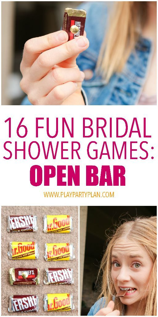 16 of the best bridal shower games