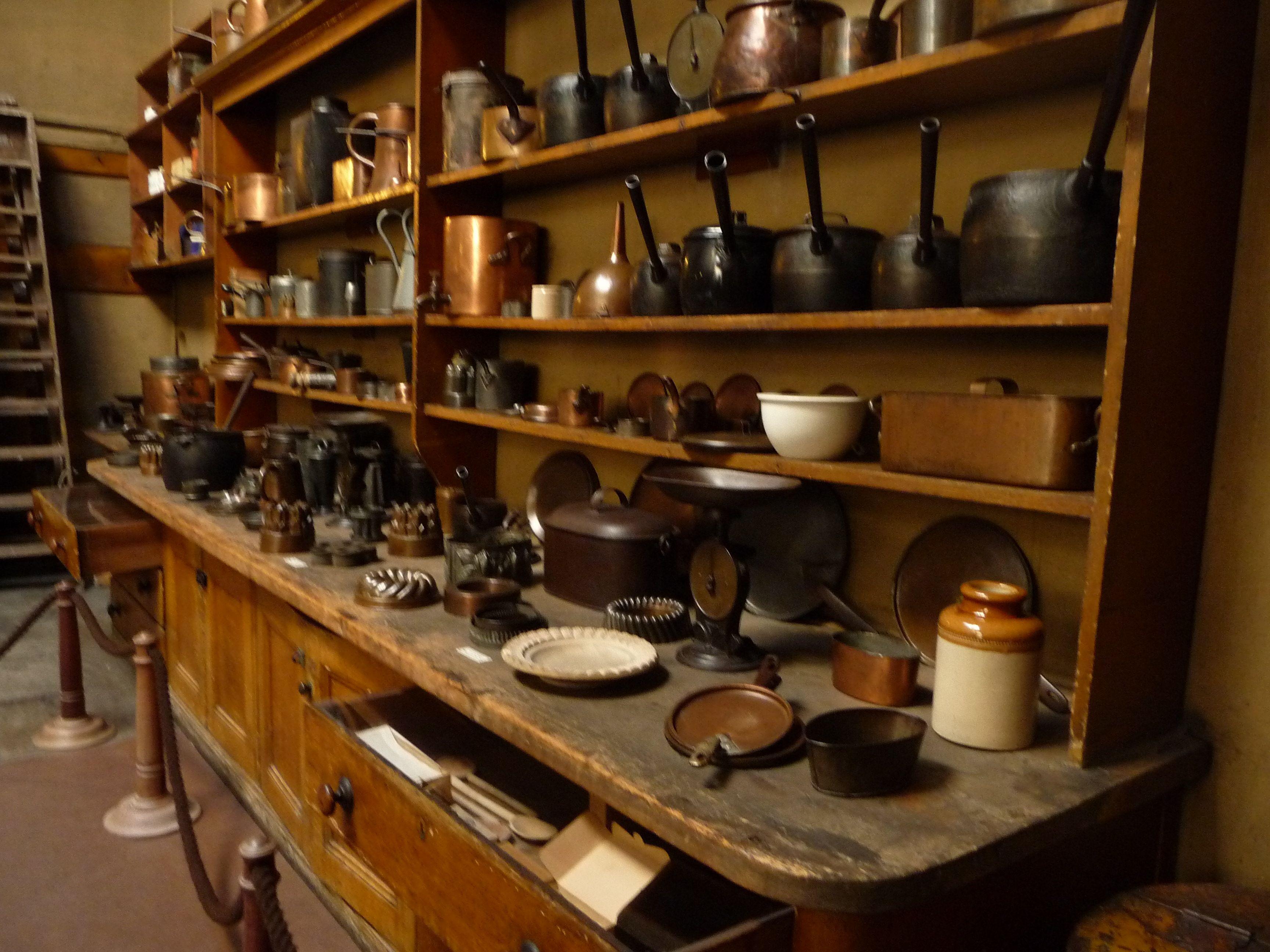 A Victorian Kitchen In Brodsworth Hall Yorkshire England Built  # Muebles Ebenezer