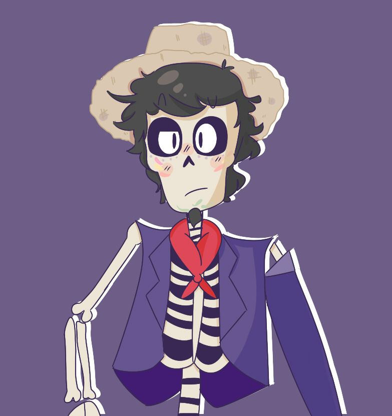 welp i tried- just some fanart for the mvoie Coco, I'm not very good at skeletons :'D