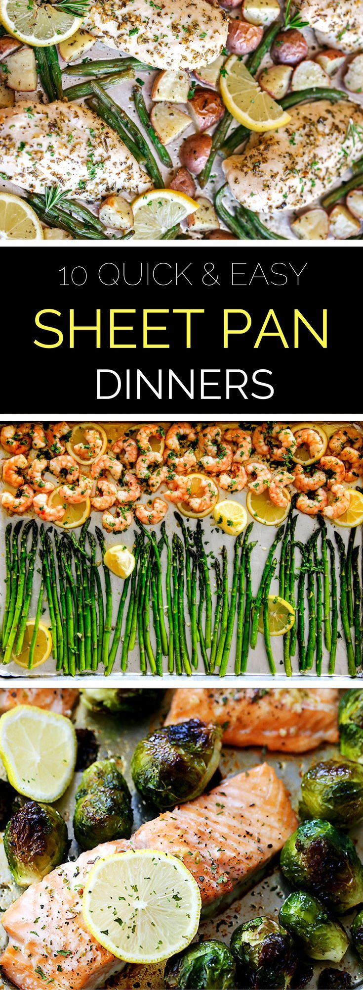 10 Quick and Easy Sheet Pan Dinners