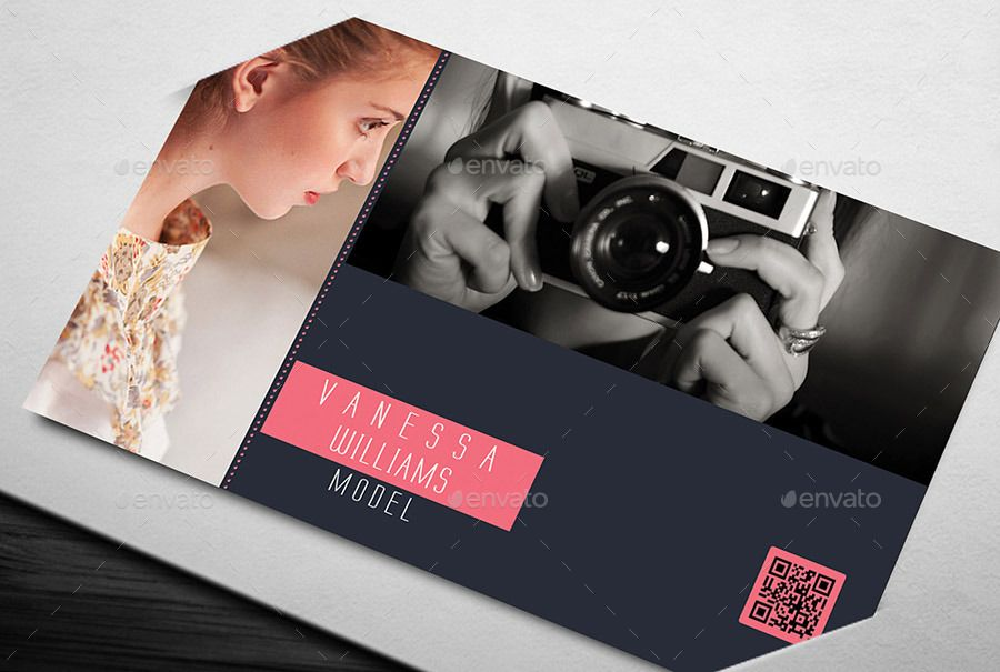 Photography Model Business Card