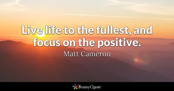 Quotes Of Life Glamorous Focus Quotes  Quotation Review