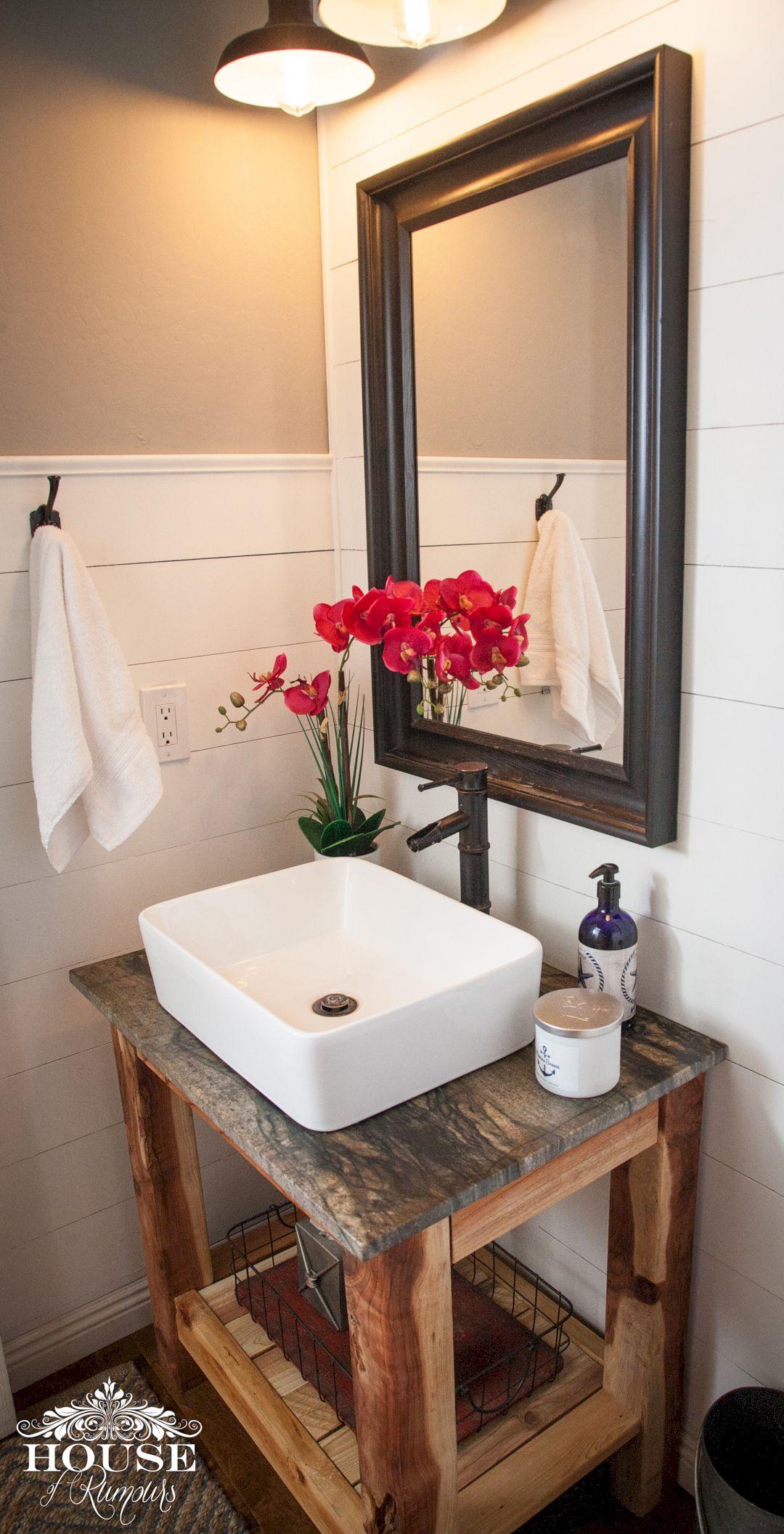 Vanity Lights Bathroom Joanna Gaines