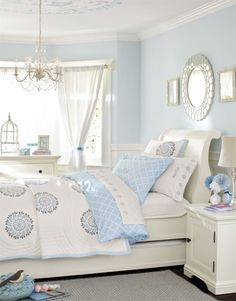 Awesome Image Result For Ideas For White And Pale Blue Bedroom