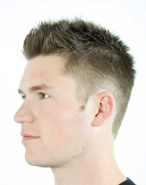 Mens Short Faded Spiky Haircuts Killian In 2019 Haircuts For Men