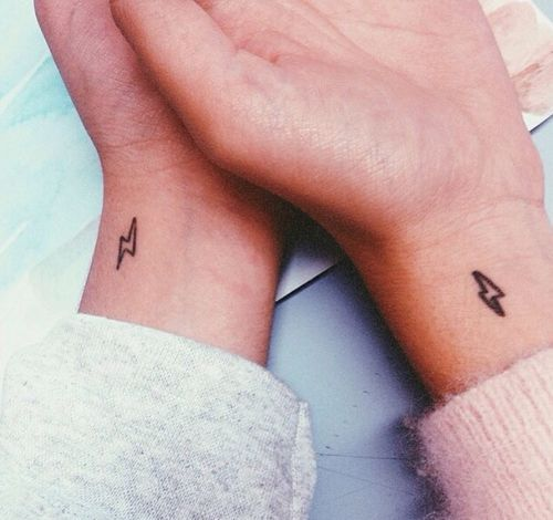 1000+ ideas about Small Matching Tattoos on Pinterest | Matching ...
