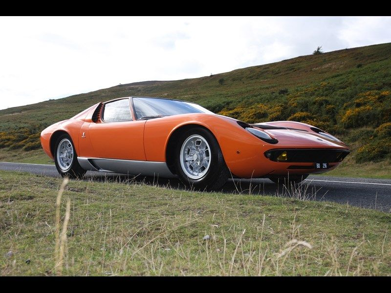 Italian Job Lamborghini Miura Up For Sale Classic Cars For Sale Uk