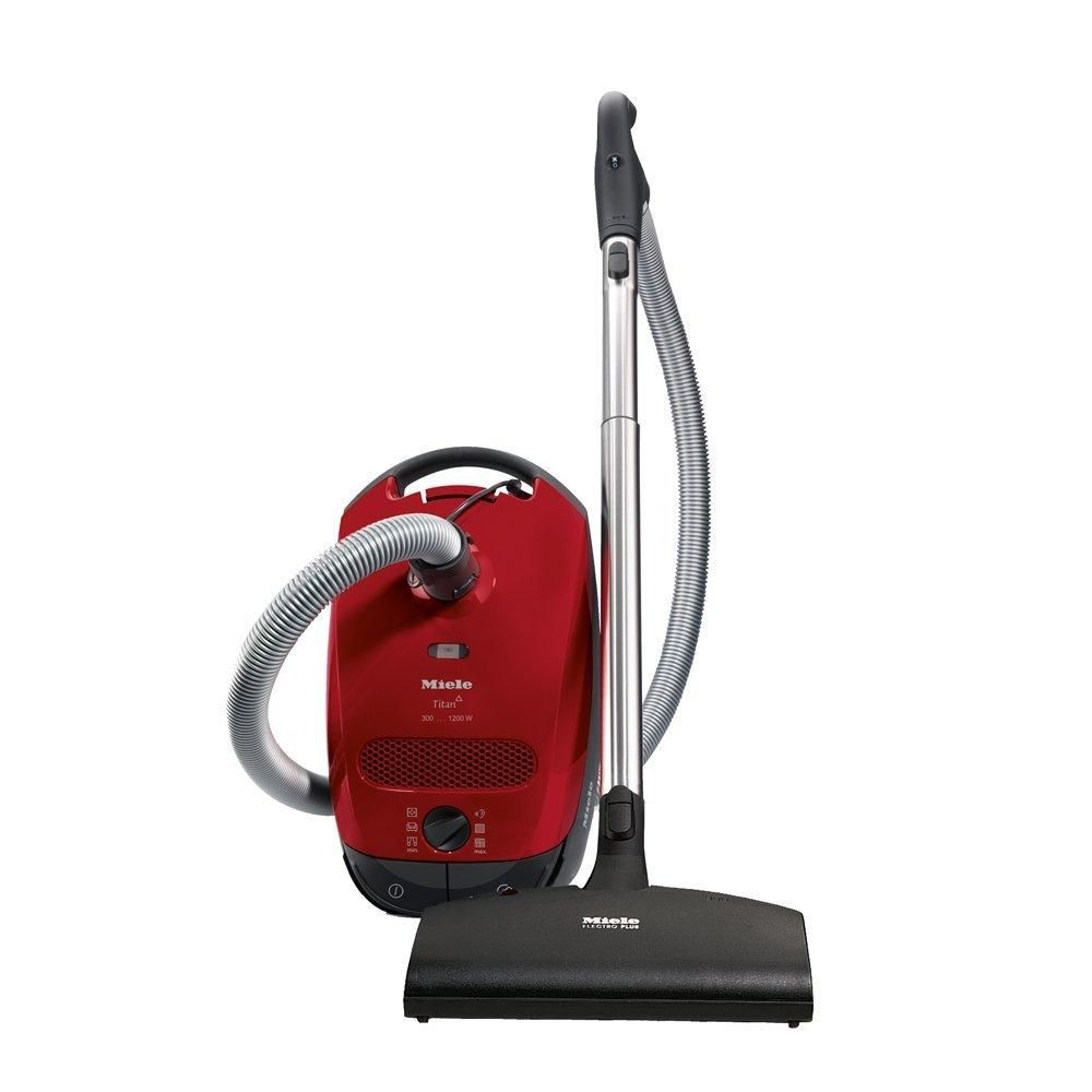 New Miele Classic C1 Titan Canister Vacuum Mango Red In