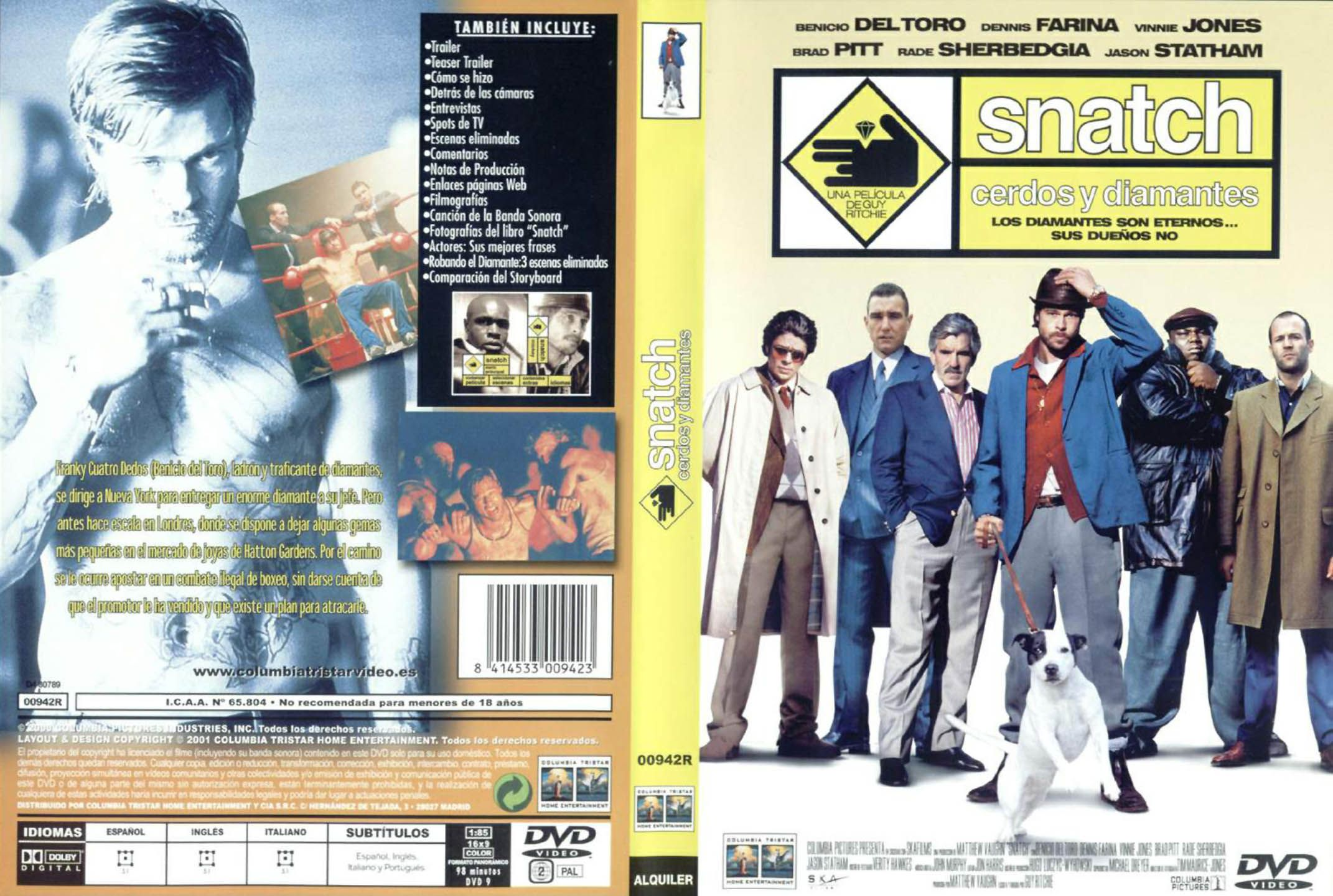 Snatch: Cerdos Y Diamantes
