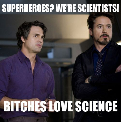 bitches love science