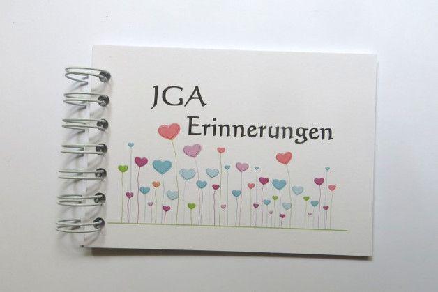 Jga Geschenk Braut Erinnerungsbuch Scrapbook Trauzeugin Hochzeit Geschenke Fur Die Braut Geschenke Brautpaar
