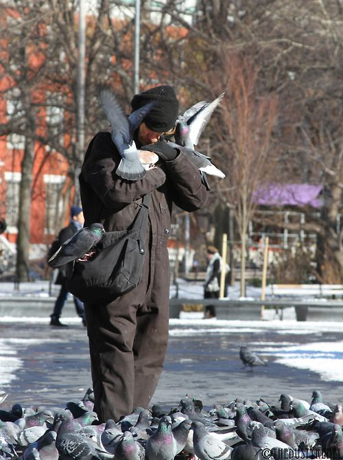 Embrace the Undesirable The world needs more people who embrace the undesirable.Washington Square Park, NYCMore from theRandom Strangers Se...