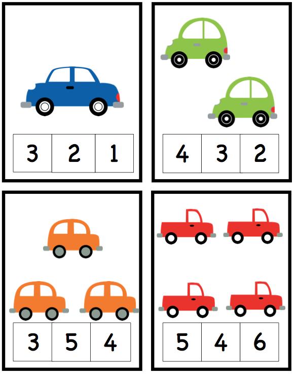 preschool printables cars preschool affaires d 39 cole math matiques gs et maths maternelle. Black Bedroom Furniture Sets. Home Design Ideas