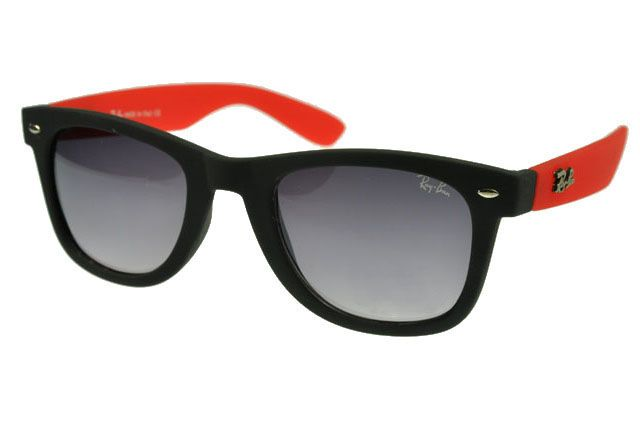3a6f1e7808699 ... switzerland ray ban wayfarer rb1878 sunglasses deep red black frame gray  lens 5cbda bafed