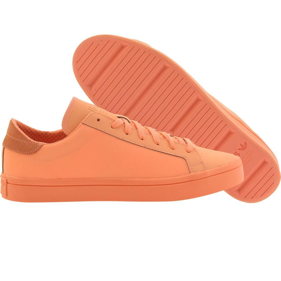 80d651e84c4b Adidas Men Court Vantage Adicolor (orange   sun glow) Adidas Men