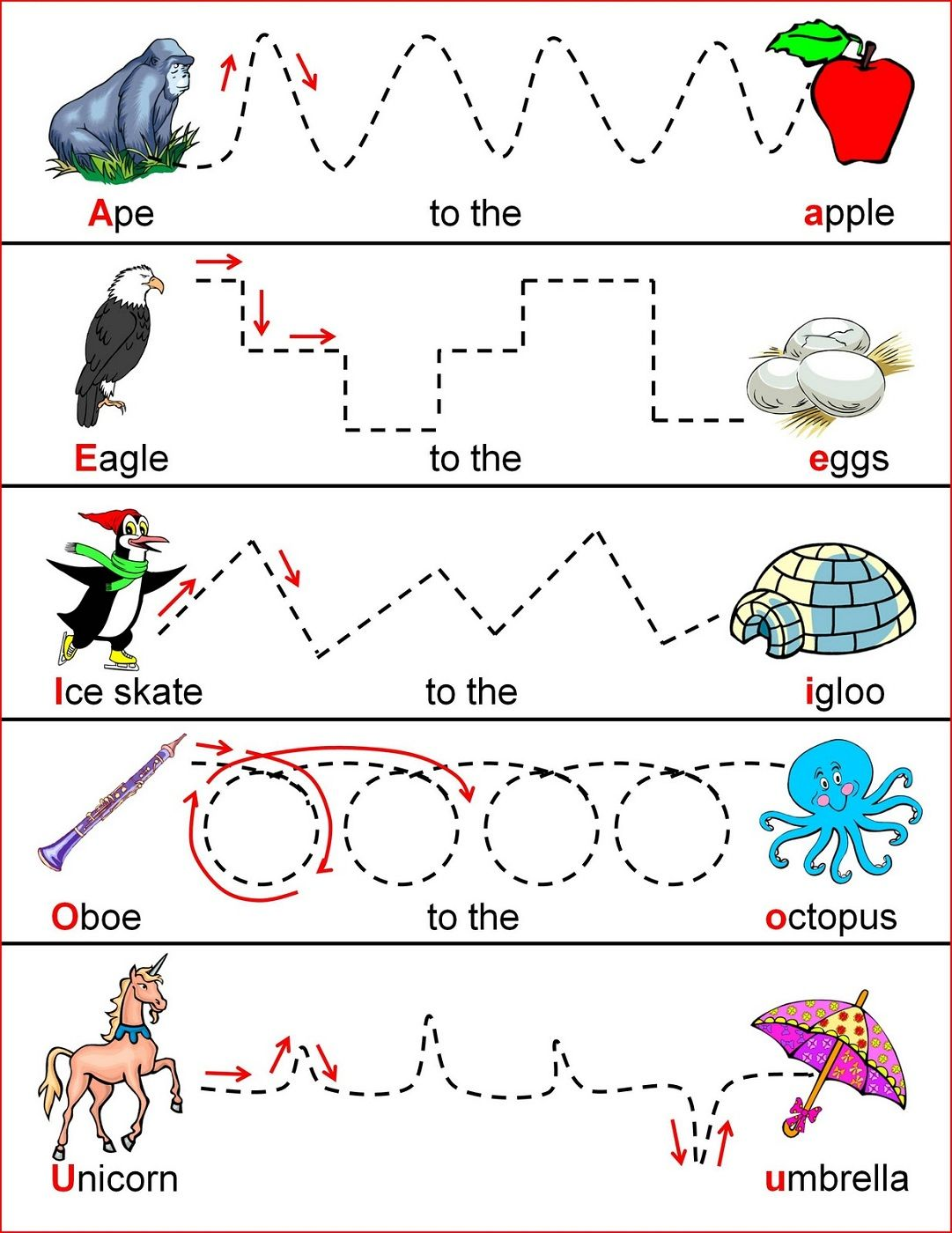 4 Year Old Worksheets Printable 4 year old activities
