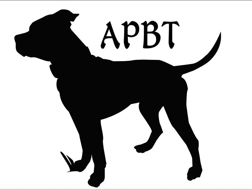 Gallery For Gt Pitbull Silhouette Silhouette Pitbulls