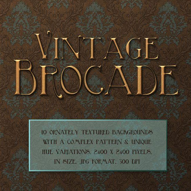 Jaguarwoman's Vintage Brocade : Jaguarwoman, Rare & Powerful Design