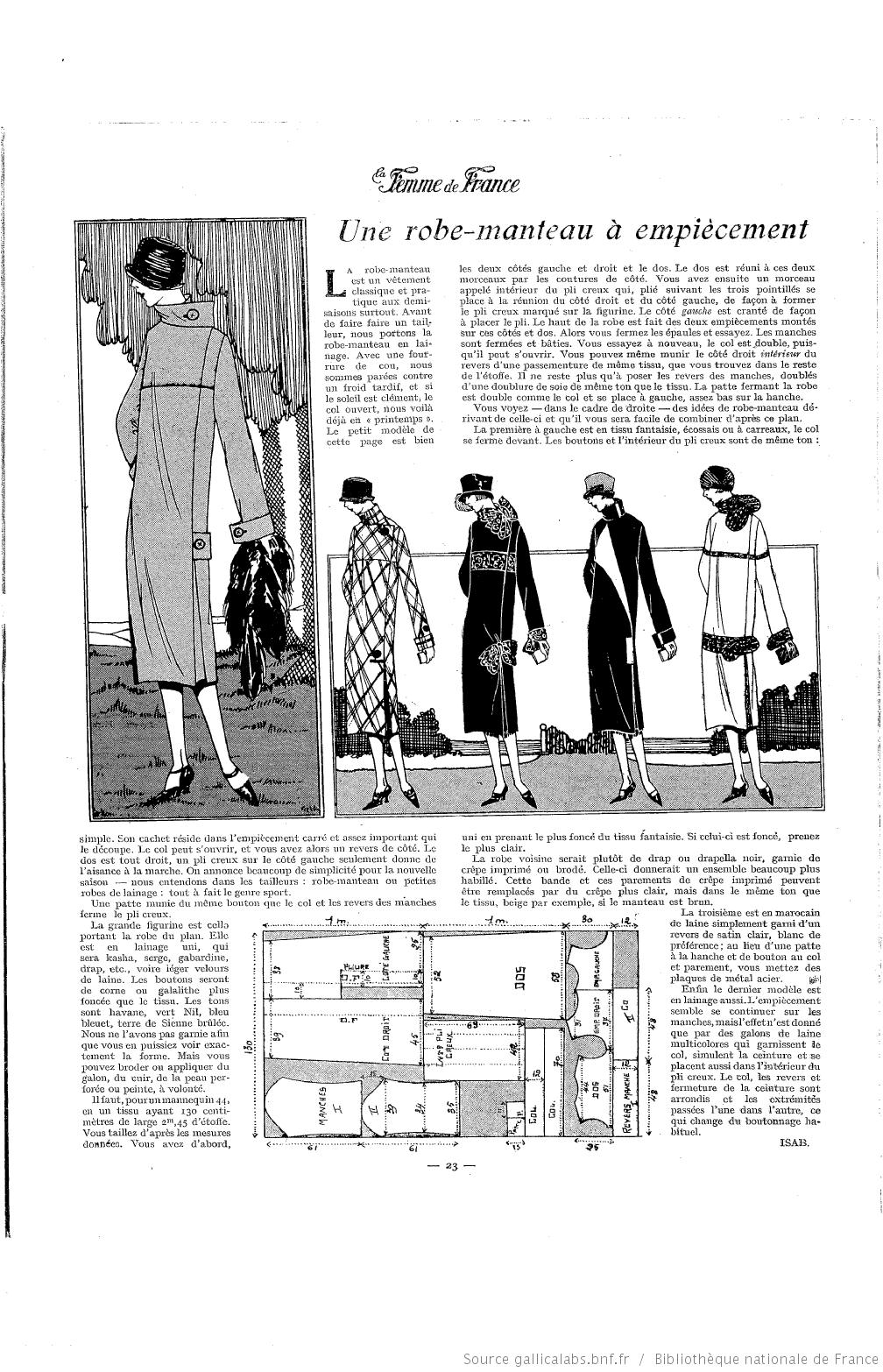 Les Modes de la femme de France | Amour de couture | Pinterest | De ...