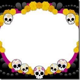Resultado De Imagen Para Marcos Para Halloween Dia De Los Muertos